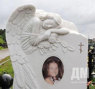 Памятник с ангелом Холм подбор памятников Шахунья