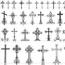 Крест из металла своими руками размеры