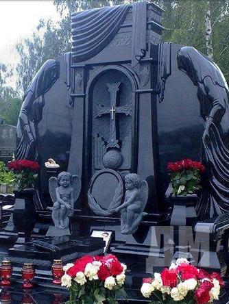 Купить памятник недорого из гранита Димитровград памятники кресты цены гранита