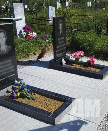 Бетонная подстилка под памятник на могилу в армавире Эконом памятник Башня с профильной резкой Ак-Довурак