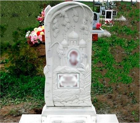 Заказать надгробие в ломоносове Цоколь резной из габбро-диабаза Мамоново